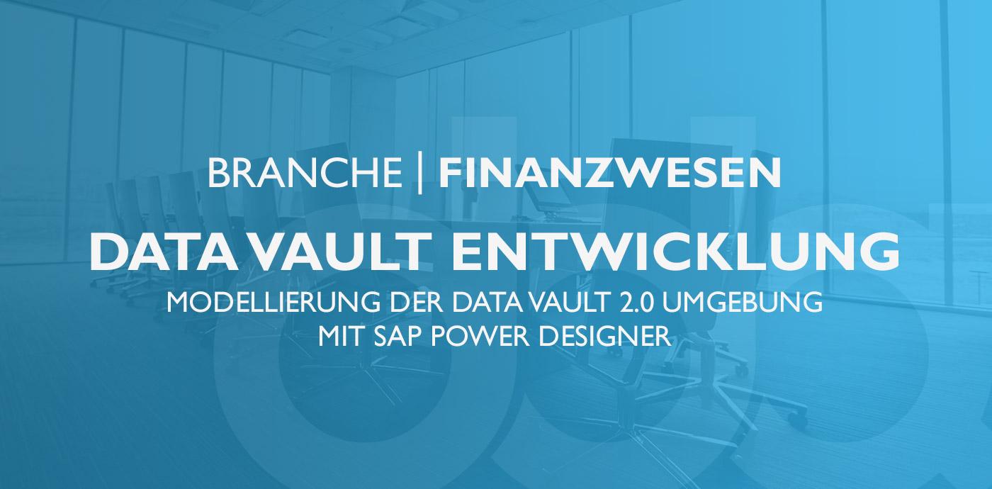 Finanzwesen – Data Vault Entwickler